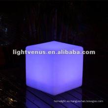 Silla de carga LED de inducción de 30 cm