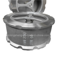 Válvula de retenção tipo wafer de aço inoxidável ANSI