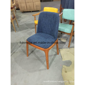 Navy Color Hotel Waiting Room Chair Without Armrest (FOH-BCC42)