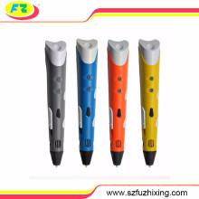 2016 Популярные цифровые дети 3D стереоскопического рисования Pen 3D рисования Pen