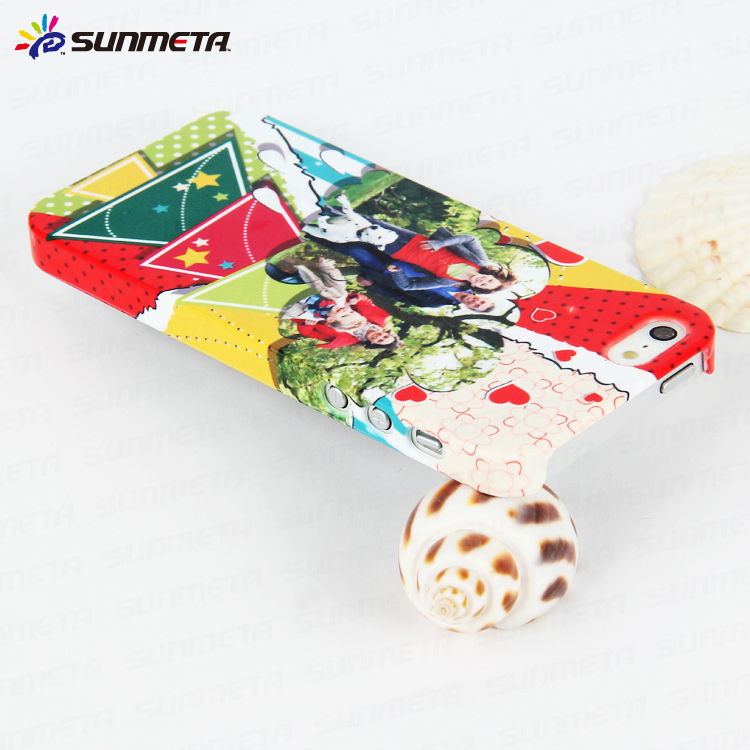 3D Dye Sublimation Phone Case for IP5