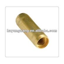 Power-Line-Hardware-Montage Kupfer Teile Kupfer-Kupplung Klemme für Erdungsstange Hersteller elektrische Erdung Stange passend