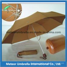 Promotion Items 3 Folding Aluminum Umbrella