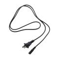 US AC power cord 1.2m NEMA1-15P to IECC7
