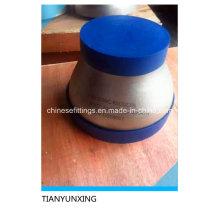 Acero inoxidable ASTM B16.9 Racores de tubería Conc Reducer