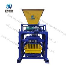 QT4-35B Small Manual Earth Block Machine Cement Interlock Brick / Fly Ash Brick Making Machine