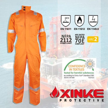 fire resistant garment for rescue