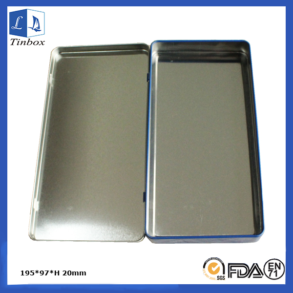 Two-Pieces Metal Gift Card Tin Box