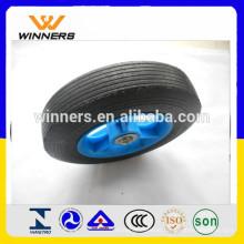 roda de borracha maciça 8x1.75 da roda quente da venda para o líquido de limpeza de alta pressão