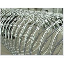 Proteção militar Defesa Concertina Navalha de arame farpado (cerca)