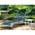 Hot sale outdoor chaise lounge poolside chairs metal sleeping bed