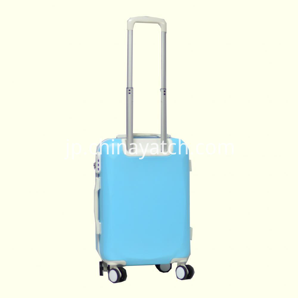 Fashion Bright Contrast Color Luggage Set