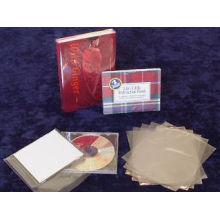 Crystal Clear Food Grade Polychlorure de vinyle Mélange thermorétractable pour les boîtes et l'emballage des articles avec SGS approuvé (XFC09)