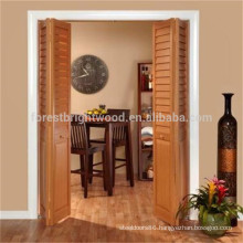 Modern Design Solid Wooden Economic Folding Doors Price
