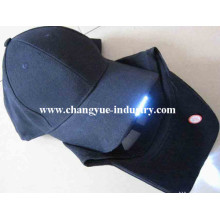 Cotton embroidery LED baseball cap