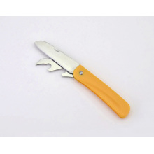 Couteau à fruits pliant multifonction en acier inoxydable