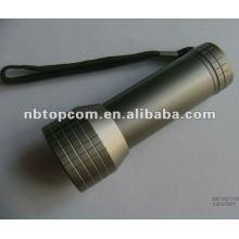 Lampe de poche à lentille LED en aluminium 9