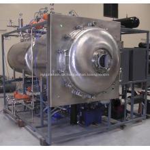Kosmetische Rohstoff-Mikrowellen-Vakuumtrocknungsmaschine