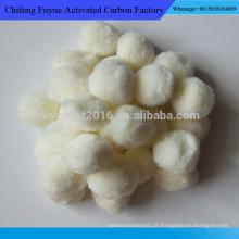 Usado para o preço da bola de fibra de filtro de água residual