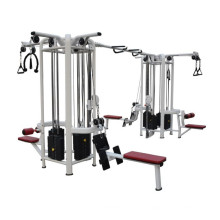 Equipo multi de la aptitud Máquina integrada del gimnasio Trainer 8 Station