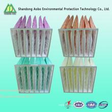 Suministro Facroy Filtro de aire de bolsillo para sistema de aire acondicionado
