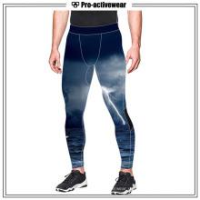 Мужская одежда для фитнеса Запуск спортивной тренировки компрессионных брюк