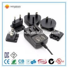 Сменный адаптер штекерной головки 24v 500ma plug dc источник питания