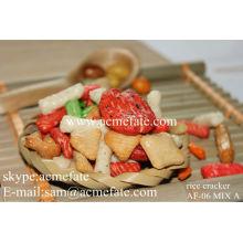 Fornecedor de cracker de cereais e snack