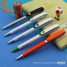 Bolígrafo de plástico promocional 2016 Valin Novedad