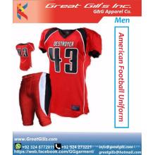 Sublimation Printing American Football Uniforms / USA football uniform