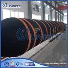 Tuyau en caoutchouc flexible noir personnalisé pour la construction de drague (USB5-006)