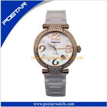 Reloj de cuarzo Fasionable con entrega rápida de piedras