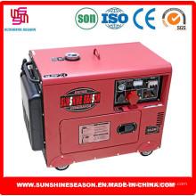 6kw Silent Design groupe électrogène Diesel pour maison & Power Supply