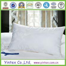 Almohada de ganso blanco para hotel profesional