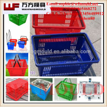 custom EU standard injection fruit basket mould/OEM plastic square Fruit basket mould/China plastic injection mould for basket