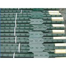 Poste en acier galvanisé ou revêtu de PVC, Fece Post, Y Post, Picket tressé