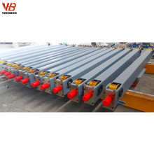 traveling end carriage for single girder overhead crane