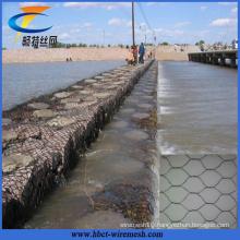 Erosion Control Hexagonal Wire Mesh Galvanized Gabion Basket Price