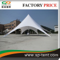 16m white large garden tent with roll door for sale