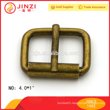 iron metal buckles on promotion, roller pin buckles