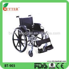 Design moderne fauteuil roulant en aluminium léger