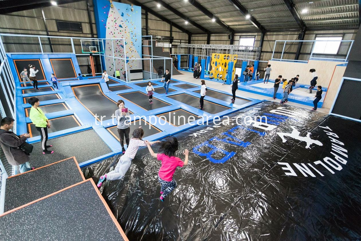 Japan indoor trampoline park