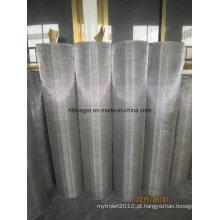 Engranzamento de fio quadrado galvanizado do ferro