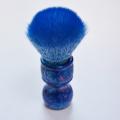 escova de barba de cabelo de texugo e conjunto de suporte de barbear