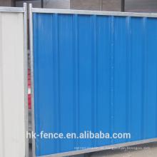 Running Construction Fechten Hoarding Panel Farbe Stahl Hoarding