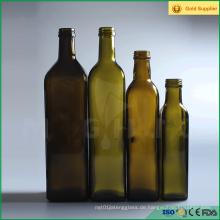 Grünes Kochen Olivenöl Marasca Glasflasche 250ml
