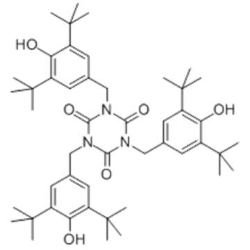 1,3,5-Triazine-2,4,6(1H,3H,5H)-trione, 1,3,5-tris((3,5-bis(1,1-dimethylethyl)-4-hydroxyphenyl)methyl)- CAS 27676-62-6