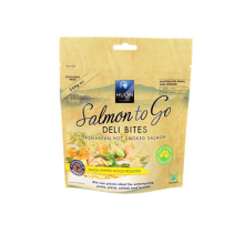 Kraft Paper Smoked Salmon Fish Bag