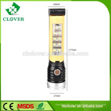 Multifunktions-Highlight blaue oder gelbe Farbe LED Taschenlampe Taschenlampe