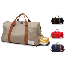 2021 Wholesale Large Capacity Gym Sports Travel Bag Custom Polyester Business Duffle Bag For Man